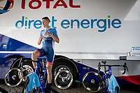 Niki Terpstra (NED/Total - Direct Energie) warming up for the TTT<br /> <br /> Stage 2 (TTT): Brussels to Brussels (BEL/28km) <br /> 106th Tour de France 2019 (2.UWT)<br /> <br /> ©kramon