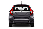 Straight rear view of a 2018 Honda Jazz Exclusive 5 Door Hatchback stock images