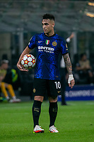 Milan, Italy - september 15 2021 - lautaro martinez in action Inter- Real Madrid champions league