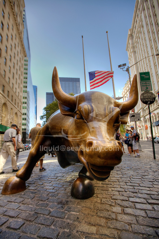 Wall Street  Bull, Manhattan, New York City.