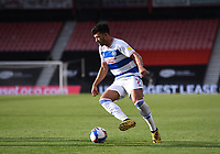 17th October 2020; Vitality Stadium, Bournemouth, Dorset, England; English Football League Championship Football, Bournemouth Athletic versus Queens Park Rangers; Macauley Bonne of Queens Park Rangers controls the ball