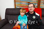 Packie O'Callaghan Killarney who celebrated his 50th birthday with his grandson Charlie on Saturday