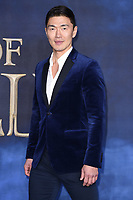 "Rick Yune<br /> arriving for the ""Fantastic Beasts: The Crimes of Grindelwald"" premiere, Leicester Square, London<br /> <br /> ©Ash Knotek  D3459  13/11/2018"