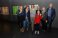 2020 01 31 Nick Cave with artist Stefanos Rokos in Antwerp, Belgium