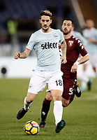 Calcio, Serie A: Roma, stadio Olimpico, 11 dicembre 2017.<br /> Lazio's Luis Alberto Romero in action during the Italian Serie A football match between Lazio and Torino at Rome's Olympic stadium, December 11, 2017.<br /> UPDATE IMAGES PRESS/Isabella Bonotto