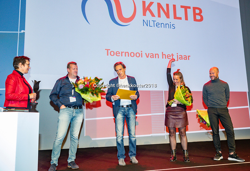 Nieuwegein,  Netherlands, 24 November 2018, KNLTB Year congress KNLTB, association of the year,<br /> Photo: Tennisimages.com/Henk Koster