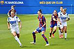 Liga IBERDROLA. Game 16.<br /> FC Barcelona vs UDG Tenerife Egatesa: 6-1.<br /> Patricia vs Jennifer Hermoso.