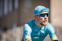 Magnus Cort Nielsen (DEN/Astana)<br /> <br /> Stage 6: Peynier to Brignoles (176km)<br /> 77th Paris - Nice 2019 (2.UWT)<br /> <br /> ©kramon