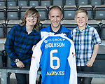 St Johnstone Players Sponsors Night…10.05.18<br />Steven Anderson<br />Picture by Graeme Hart.<br />Copyright Perthshire Picture Agency<br />Tel: 01738 623350  Mobile: 07990 594431