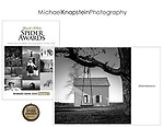 "Michael Knapstein's photograph ""Hague Log Church"" was published in the Spider Awards Winners Book for 2020."