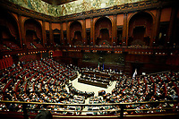 A general view of the Lower Chamber Italian Premier Giuseppe Conte's information about the Government crisis..<br /> Rome(Italy), January 18th 2021<br /> Photo Samantha Zucchi/Insidefoto