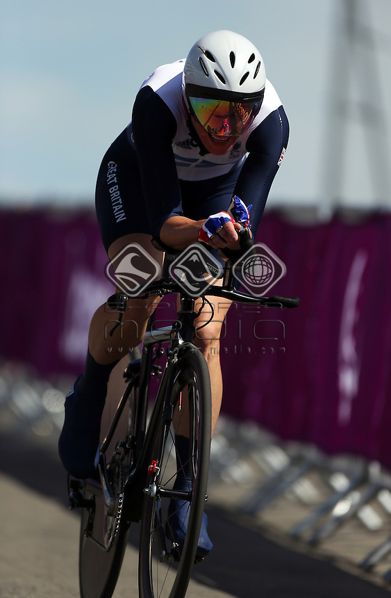 Sarah Storey (GBR), Women's Individual C 5 Time Trial.<br /> Cycling Road, Brands Hatch (Wednesday 5th Sept)<br /> Paralympics - Summer / London 2012<br /> London England 29 Aug - 9 Sept <br /> © Sport the library/Joseph Johnson