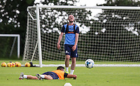 Michael Harriman during the Wycombe Wanderers 2016/17 Pre Season Training Session at Wycombe Training Ground, High Wycombe, England on 1 July 2016. Photo by Andy Rowland / PRiME Media Images.