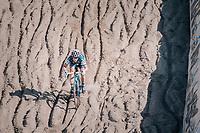Katie Compton (USA/KFC Racing p/b Trek/Panache) in the infamous Zonhoven 'Kuil' (or 'Pit')<br /> <br /> Elite Women's Race<br /> CX Super Prestige Zonhoven 2017