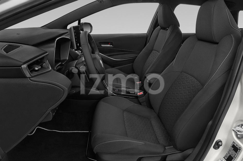 Front seat view of 2019 Toyota Corolla-TS-hybrid Style 5 Door Wagon Front Seat  car photos