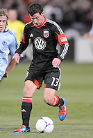 D.C. United forward Chris Pontius (13)   Sporting Kansas City defeated D.C. United  1-0 at RFK Stadium, Saturday March 10, 2012.