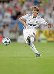 Real Madrid's Sergio Canales during Bernabeu Trophy. August 24, 2010. (ALTERPHOTOS/Alvaro Hernandez)