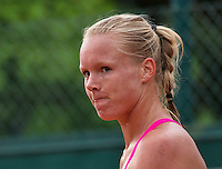 Paris, France, 28 June, 2016, Tennis, Roland Garros, Kiki Bertens (NED) reacts<br /> Photo: Henk Koster/tennisimages.com