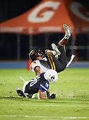 St. Frances Academy Panthers game against the IMG Academy Ascenders on November 12, 2016 at IMG Academy in Bradenton, Florida.  IMG defeated St. Frances 38-0.  (Mike Janes Photography)