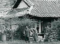 Mönch in Chonju, Korea 1986