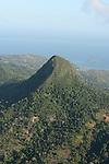 sommet du Choungi vu d ULM  .
