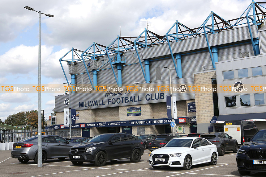 General view of the outside of Millwall FC during Millwall vs Stoke City, Sky Bet EFL Championship Football at The Den on 12th September 2020