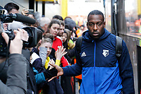 during the Premier League match between Watford and Swansea City at the Vicarage Road, Watford, England, UK. Saturday 30 December 2017