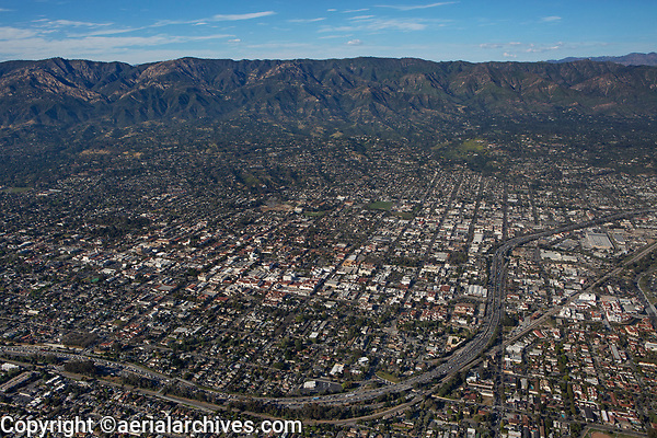 aerial photograph of Santa Barbara, California