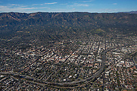 aerial photograph of Santa Barbara, California
