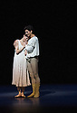 Canada's premier dance company The National Ballet of Canada returns to London after 26 years with its new production of Romeo and Juliet, which was created in 2011 to mark the company's 60th anniversary. Picture shows: Guillaume Cote (Romeo) and Heather Ogden (Juliet).