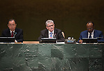 Report of the Secretary-General on the work of the Organization: presentation by the Secretary-General of his annual report