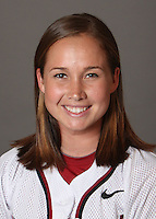 STANFORD, CA - OCTOBER 29:  Alissa Haber of the Stanford Cardinal softball team poses for a headshot on October 29, 2009 in Stanford, California.