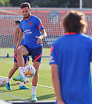 Atletico de Madrid's Saul Niguez during training session. August 3,2021.(ALTERPHOTOS/Atletico de Madrid/Pool)