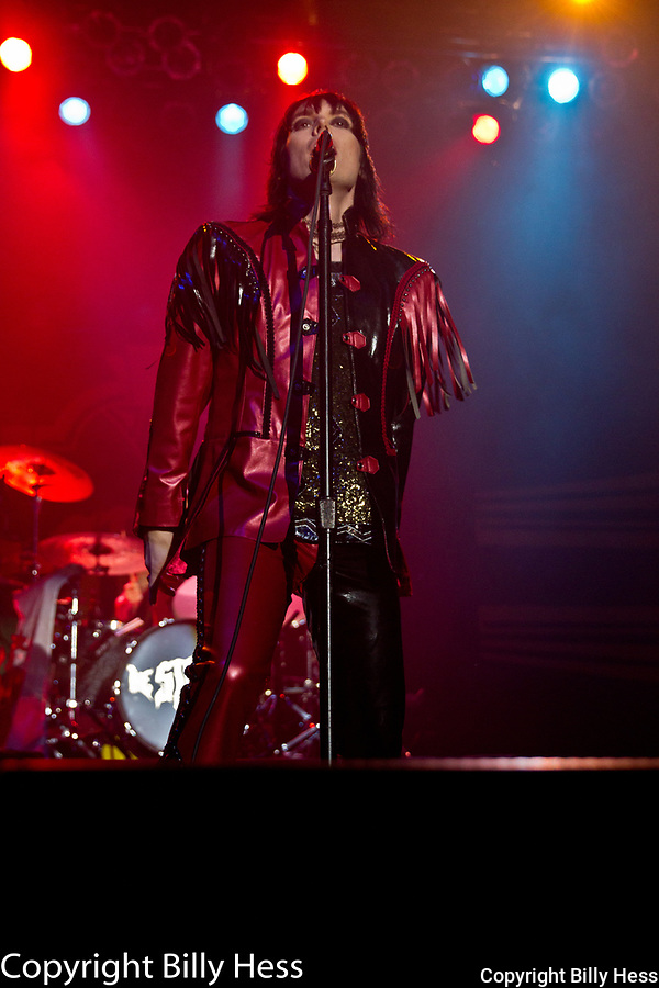"""The Struts are an English rock band from Derby, Derbyshire, England. The band consists of vocalist Luke Spiller, guitarist Adam Slack, bassist Jed Elliott, and drummer Gethin Davies. Formed in 2009, the original lineup was composed of Spiller, Slack, bassist Jamie Binns and drummer Rafe Thomas. <br /> The band's influences include Queen, The Darkness, the Rolling Stones, Aerosmith, Def Leppard, The Killers, The Smiths, Oasis, The Libertines, The Strokes, and My Chemical Romance. The Struts have been described as """"unabashedly over the top retro-fetishist classic rock"""" and """"glamorous and dangerous The Struts are an English rock band from Derby, Derbyshire, England. The band consists of vocalist Luke Spiller, guitarist Adam Slack, bassist Jed Elliot, and drummer Gethin Davies."""