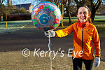 Siobhan Kearney celebrating the 6th birthday of the Tralee Park Run in the town park on Saturday morning.