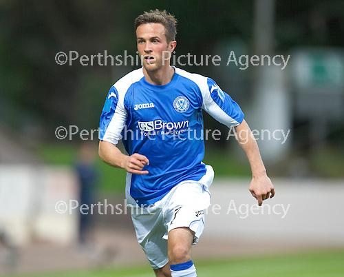 St Johnstone FC...Season 2012-13.Chris Millar.Picture by Graeme Hart..Copyright Perthshire Picture Agency.Tel: 01738 623350  Mobile: 07990 594431