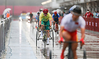 Australia's Stuart Jones during the T1-2 Road Race on day 09 of the 2020 Tokyo Paralympic Games.<br /> Paralympics Australia / Day 09<br /> Tokyo Japan: Thursday 2 Sep 2021<br /> © Sport the library / Greg Smith / PA