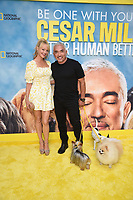 """LOS ANGELES - JULY 30:  Charlotte Ross and Cesar Millan attend the premiere event for National Geographic's """"Cesar Millan: Better Human, Better Dog"""" at the Westfield Century City Mall Atrium on July 30, 2021 in Los Angeles, California. (Photo by Stewart Cook/National Geographic/PictureGroup)"""