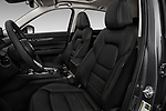 Front seat view of 2017 Mazda CX-5 Grand Touring 5 Door SUV front seat car photos