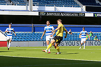 first goal scored for Millwall by Matt Smith of Millwall during Queens Park Rangers vs Millwall, Sky Bet EFL Championship Football at Loftus Road Stadium on 18th July 2020