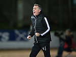 St Johnstone v Ross County…24.10.17…  McDiarmid Park…  SPFL<br />Owen Coyle screams instructions<br />Picture by Graeme Hart. <br />Copyright Perthshire Picture Agency<br />Tel: 01738 623350  Mobile: 07990 594431