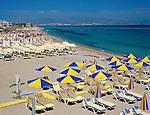 Greece, Dodecanese, Kos Island, Kos-Town: Beach Scene | Griechenland, Dodekanes, Insel Kos, Strand bei Kos-Stadt