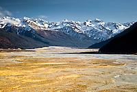 Waimakariri River near Arthurs Pass - Canterbury, New Zealand
