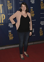 "LOS ANGELES - JANUARY 22:  Rachel Bloom at the opening night of ""The Last Ship"" on January 22, 2020 at the Ahmanson Theatre in Los Angeles, California. (Photo by Scott Kirkland/PictureGroup)"