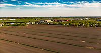 Photo aerienne de Saint-Hubert<br /> <br /> PHOTO : Denis Germain<br />  - Agence Quebec Presse