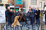 Attending the unveiling of the Jack Duggan Statue in Castlemaine  on Sunday..<br /> Frank Hayes (Kerry Group), Mike Flynn (Mayor of Castlemaine), Tommy Griffin, Minister Brendan Griffin TD, Pat Murphy (Kerry Agro) and Sen Mark Daly.
