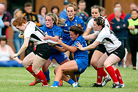 24 August 2019; Ella Durkan during the Women's Interprovincial Championship match between Ulster and Leinster at Armagh RFC in Armagh. Photo by John Dickson / DICKSONDIGITAL