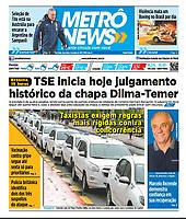06.06.2017 - Taxistas exigem regras mais rígidas contra concorrência. (Foto: Fábio Vieira/FotoRua)