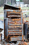 Since almost anything that was combustible burned entirely to the ground, one of the most common post-fire sights were washers and dryers, toolboxes and plastic garbage cans.