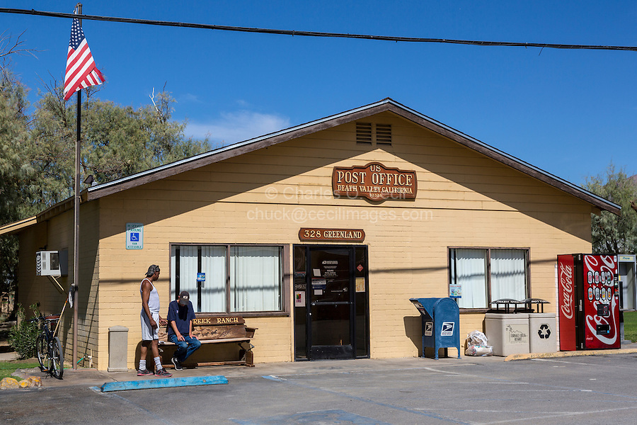 Death Valley, California.  Post Office at Furnace Creek.
